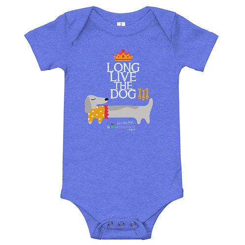 Baby bodysuit 'Long live the dog'