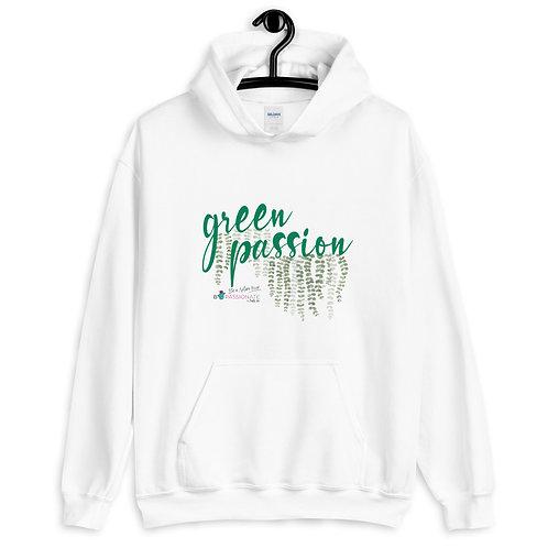 Sudadera tallas grandes tonos claros 'Green Passion'