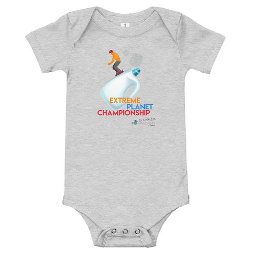 'Planet Championship' baby bodysuit