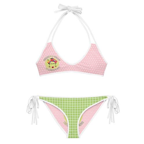 Bikini reversible 'Veggie lover'