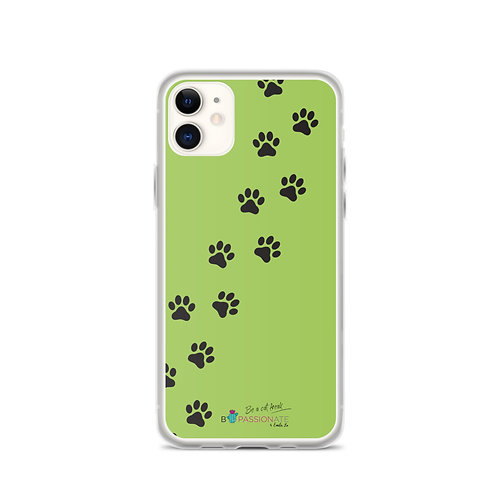 Fundas para iPhone verdes 'Lucky cat'