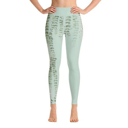 Leggings yoga 'Green Passion' modelo 2
