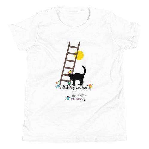 Camiseta adolescente 'Lucky cat'