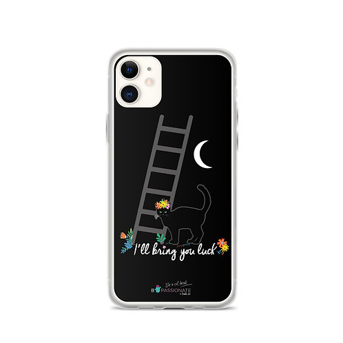 Black 'Lucky cat' iPhone cases