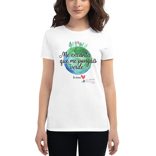 Women's 'Planet lover' t-shirt
