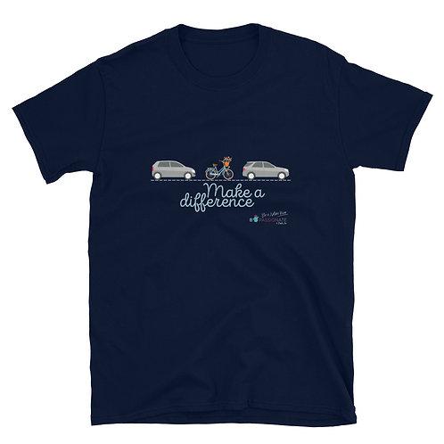 Camiseta básica 'Make a difference'