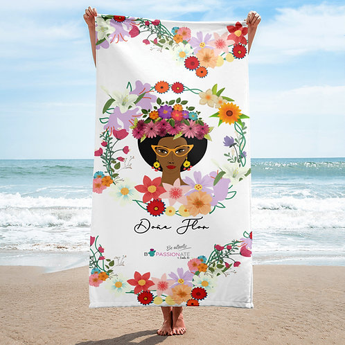 Toalla 'Doña Flor' modelo 3