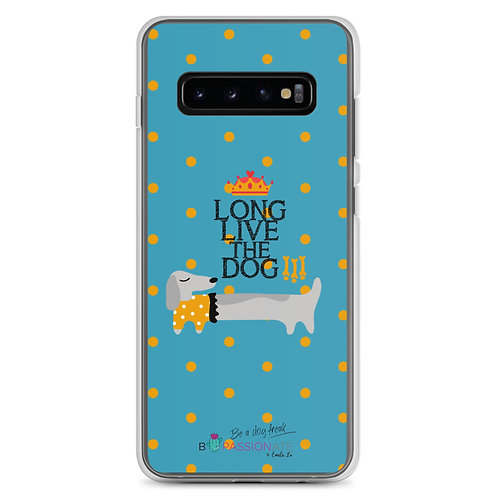 Fundas para Samsung azules 'Long live the dog'