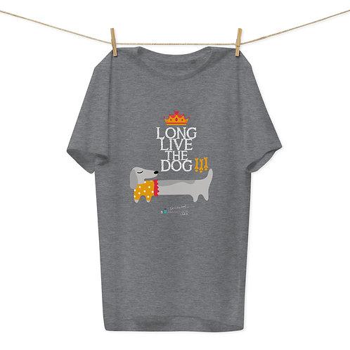 Camiseta algodón orgánico 'Long live the dog'