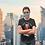 Thumbnail: Blue reusable glasses 'The smart dog' mask