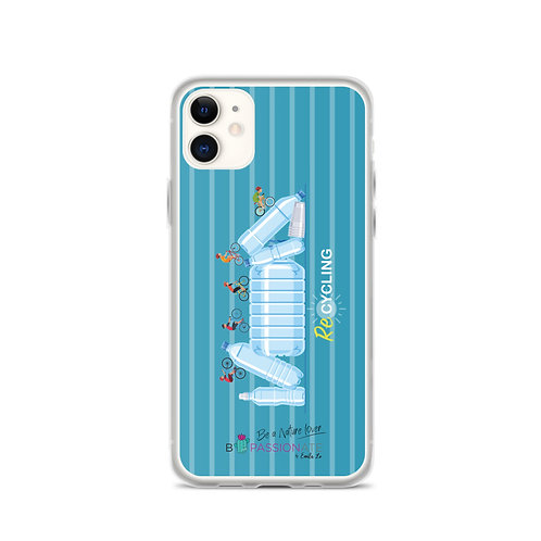 Blue 'Re-Cycling' iPhone Cases