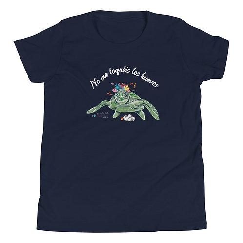 Camiseta adolescente 'Tortuga cojonuda'
