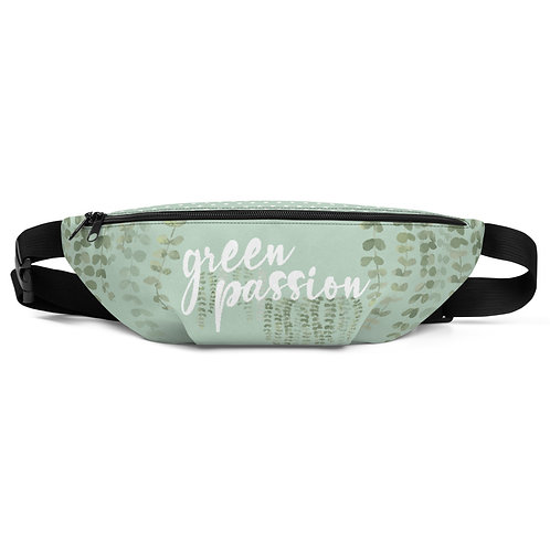 Riñonera verde 'Green Passion'