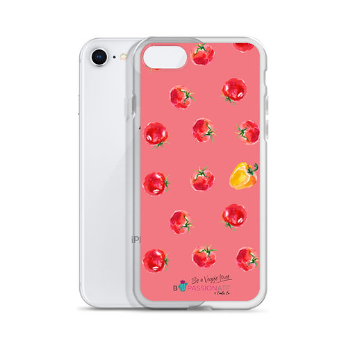 Fundas para iPhone coral 'Veggie lover'