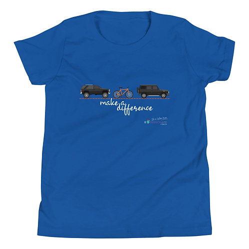 Camiseta adolescente 'Make a difference'