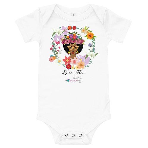 Baby bodysuit 'Mis Flowers'