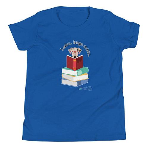 Camiseta adolescente 'El perro inteligente'