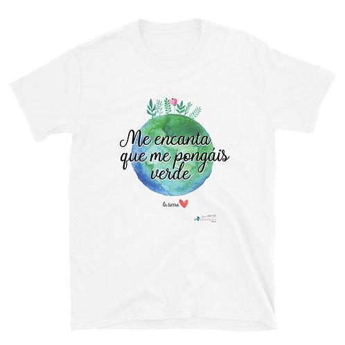 Camiseta básica 'Planet lover'