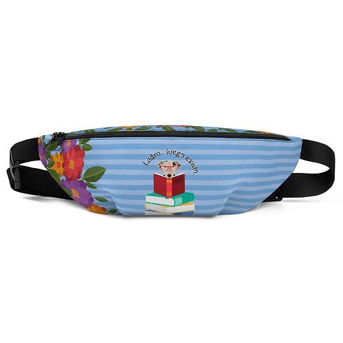 Blue 'The smart dog' belt bag