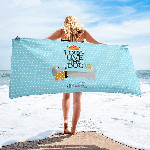 Toalla 'Long live the dog' modelo 4