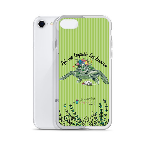 Green 'Great turtle' iPhone cases