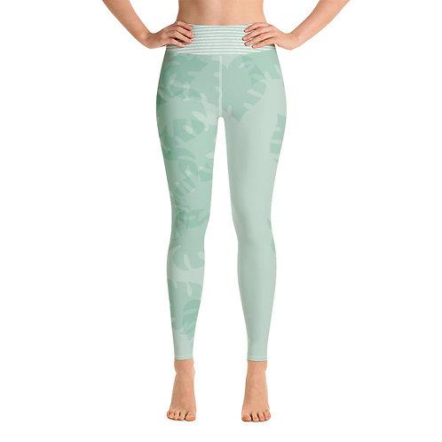 Yoga Leggings 'Green Fashion'