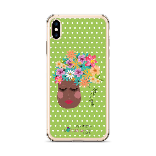 Green 'I want to dream' iPhone cases
