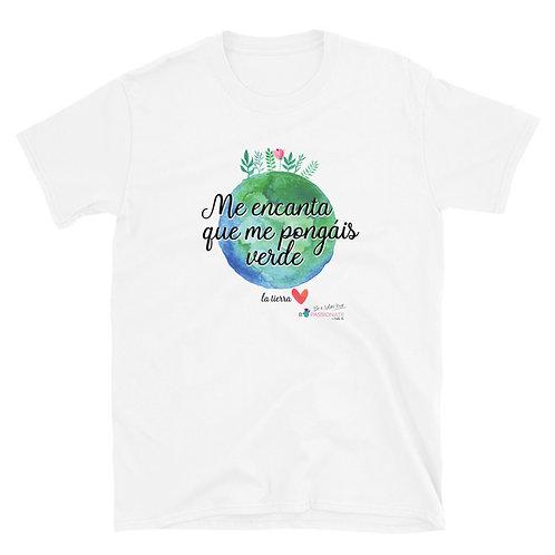 Basic 'Planet lover' T-shirt