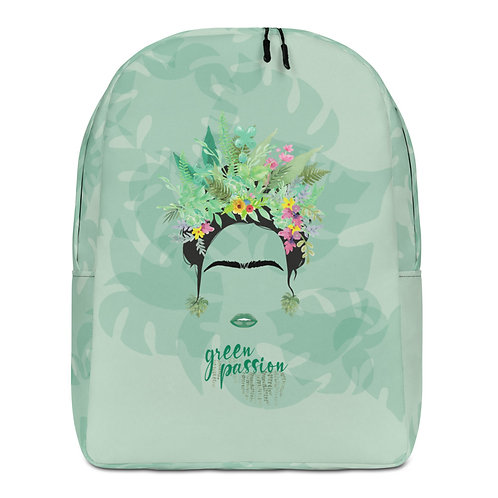 Mochila grande verde 'Green Fashion'