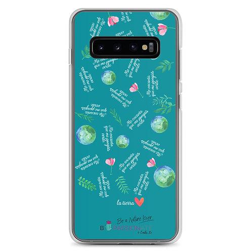 Fundas para Samsung verdes 'Planet lover'