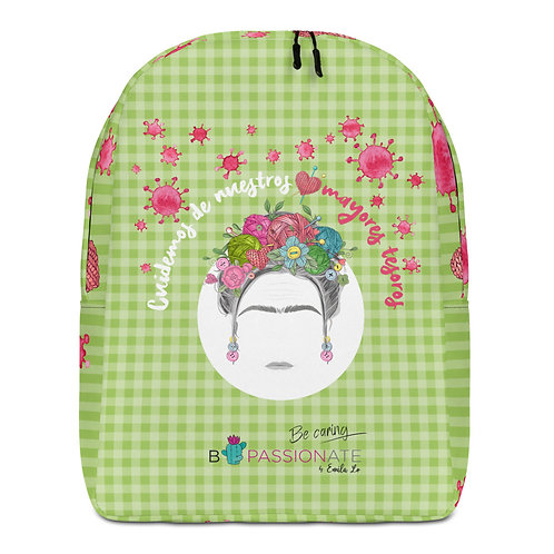 Large green 'Greater Treasures' backpack