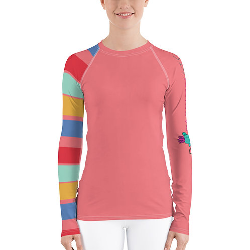 Women's compression top 'The smart dog'