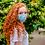 Thumbnail: Mascarilla usos ilimitados azul para Sofía