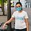 Thumbnail: Blue reusable 'Re-Cycling' mask