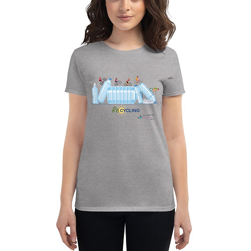 Camiseta mujer 'Re-Cycling' modelo 1