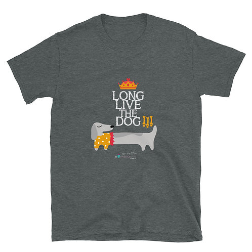 Camiseta básica 'Long live the dog'