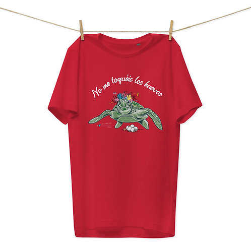 Camiseta algodón orgánico 'Tortuga cojonuda'