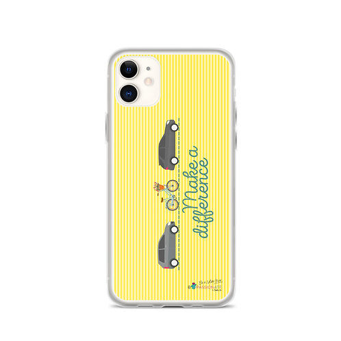 Fundas para iPhone lima 'Make a difference'