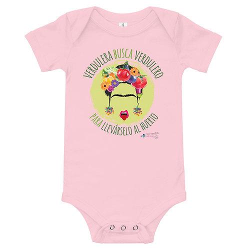 Baby bodysuit 'Veggie lover'