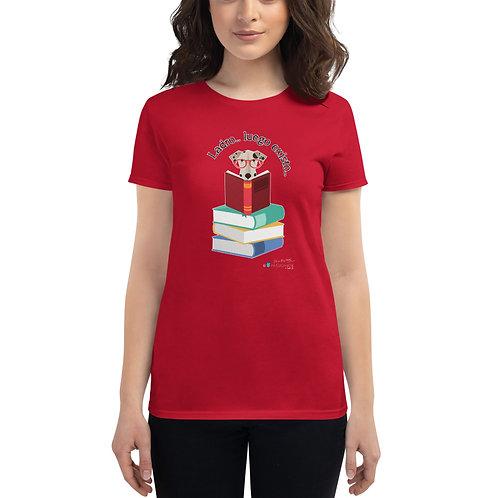 Camiseta mujer 'El perro inteligente'