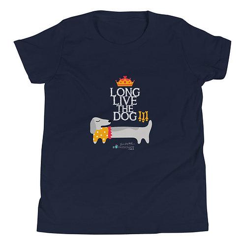 'Long live the dog' teen t-shirt