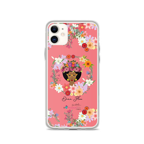 Coral 'Doña Flor' iPhone cases