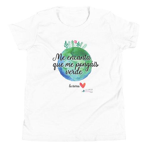 Camiseta adolescente 'Planet lover'
