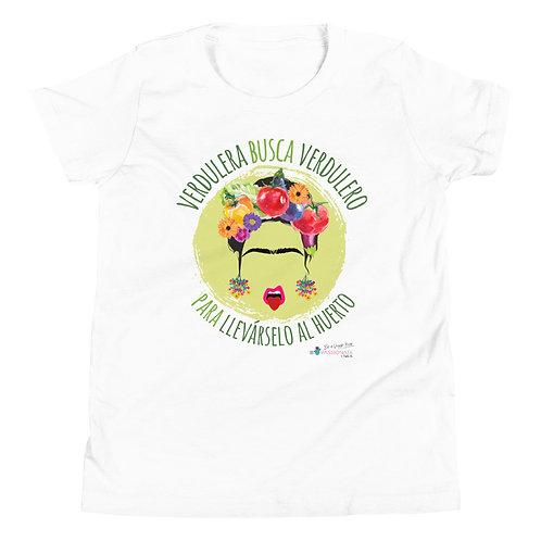 'Veggie lover' teen t-shirt