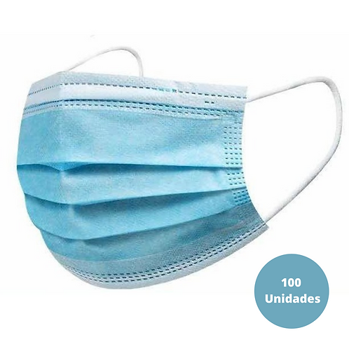 Pack 2 Boxes 50 triple layer hygienic masks - disposable