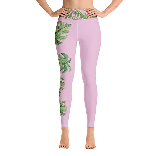 Leggings yoga 'Green Passion' modelo 4