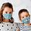 Thumbnail: Unlimited use mask 'Playful kittens'