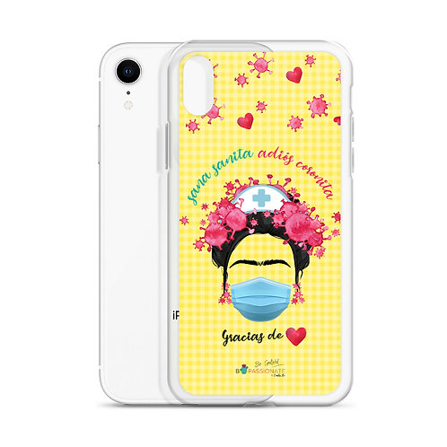 Yellow 'Goodbye Crown' iPhone Cases