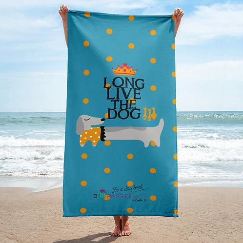 Toalla 'Long live the dog' modelo 5