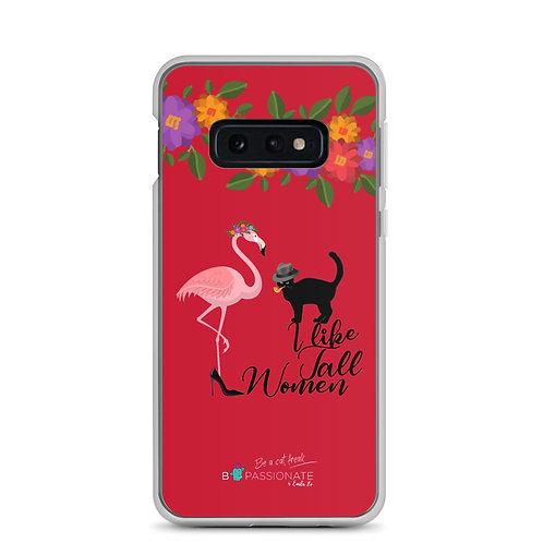 Fundas para Samsung rojas 'Cat in love''